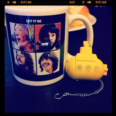 Mug Beatles Let it be + Yellow Tea Sub